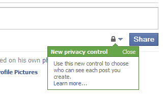Facebook adds a new Privacy Control with everything You share 2